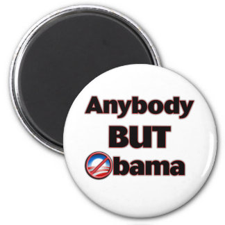 Anybody BUT Obama 2 Inch Round Magnet