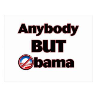 Anybody BUT Obama Postcard