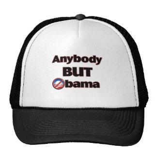 Anybody BUT Obama Trucker Hat