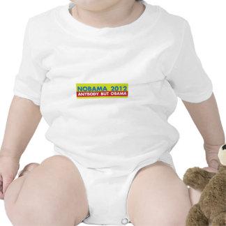 ANYBODY BUT OBAMA BABY BODYSUITS