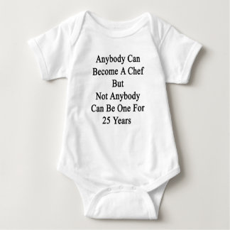 Anybody Can Become A Chef But Not Anybody Can Be O Tee Shirt