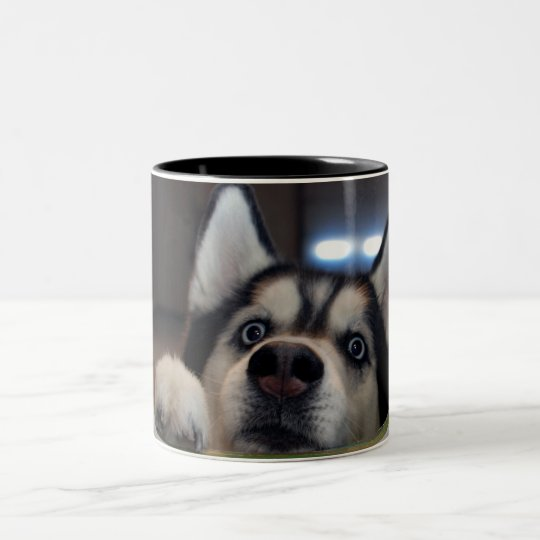 Anybody Out There? Two-Tone Coffee Mug