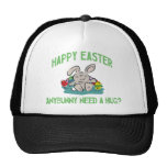 Anybunny Need A Hug Happy Easter Ladies Mesh Hat