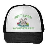 Anybunny Need A Hug Happy Easter Ladies Trucker Hat