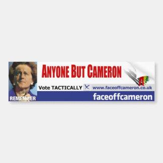 Anyone But Cameron Bumper Sticker