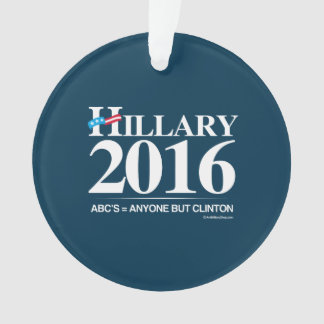 Anyone but Clinton - Anti Hillary png white