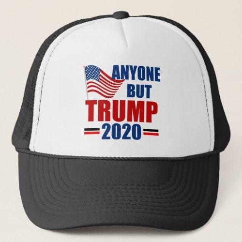 Anyone But Donald Trump 2020 Trucker Hat