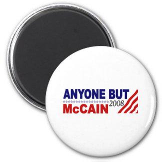 Anyone But Mccain Fridge Magnet