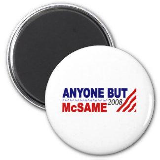 Anyone But Mcsame Refrigerator Magnets