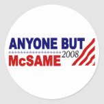 Anyone But Mcsame Stickers