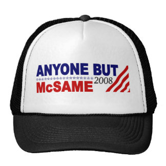 Anyone But Mcsame Trucker Hat