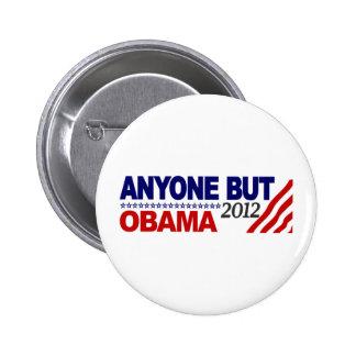 Anyone But Obama 2012 Pins