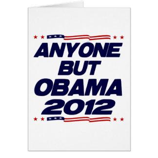 Anyone But Obama 2012 Cards