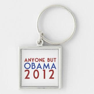 Anyone but Obama 2012 Keychain