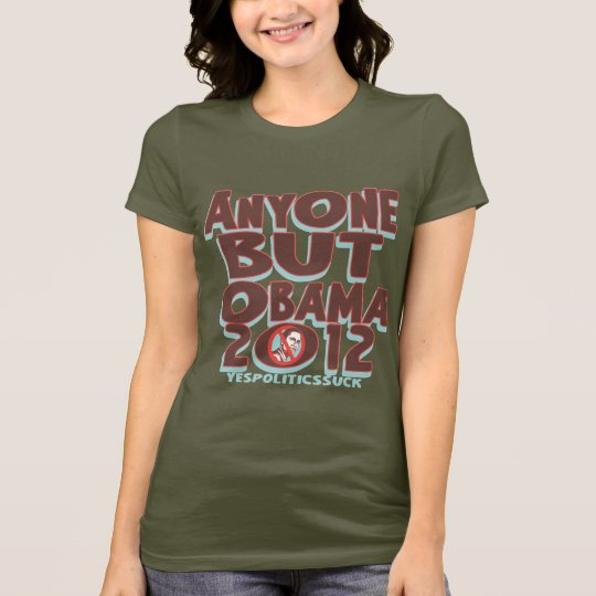 Anyone But Obama 2012 t-shirts and gear