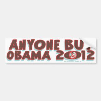 Anyone But Obama 2012 t-shirts and gear Car Bumper Sticker