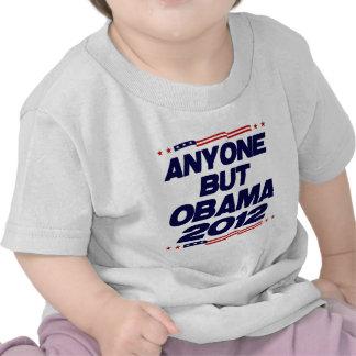 Anyone But Obama 2012 Tee Shirt