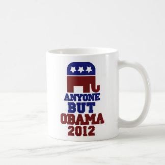 Anyone But Obama AntiObama 2012 Coffee Mug