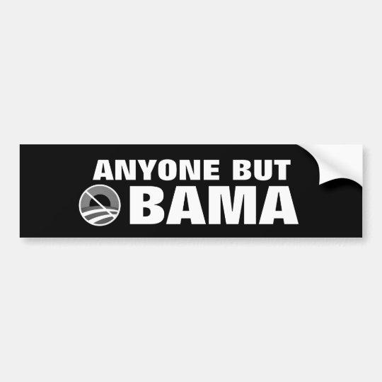 Anyone But Obama Bumper Sticker