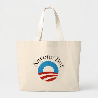 Anyone But Obama w/Logo Canvas Bags