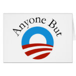 Anyone But Obama w/Logo Card