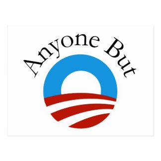 Anyone But Obama w/Logo Post Card