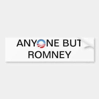 Anyone But Romney Bumper Sticker