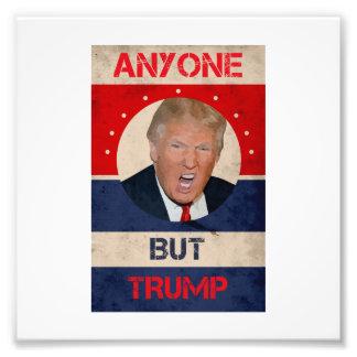 Anyone But Trump Photo Print