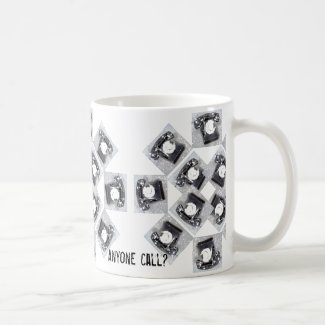 Anyone Call Telephone Design on Coffee Mug