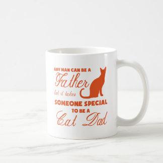 Anyone Can Be A Father (orange) Coffee Mug