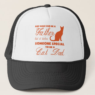 Anyone Can Be A Father (orange) Trucker Hat