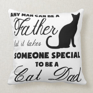 Anyone Can Be A Father Throw Pillow
