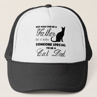 Anyone Can Be A Father Trucker Hat