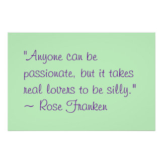 Anyone Can Be Passionate Poster