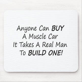 Anyone Can Buy A Muscle Car Mouse Pad