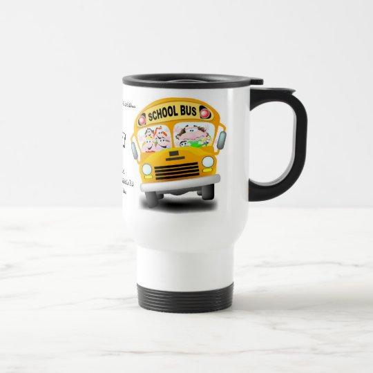 Anyone can drive a car travel mug