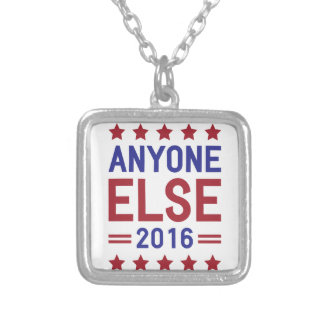 Anyone Else 2016 Silver Plated Necklace