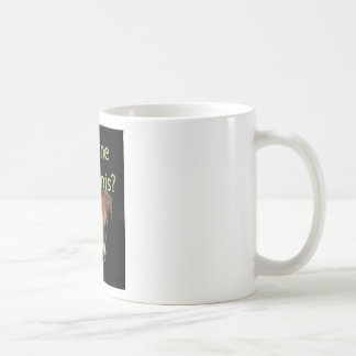 Anyone for tennis? coffee mug