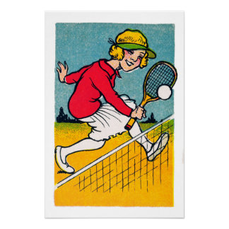 Anyone For Tennis - Vintage Print