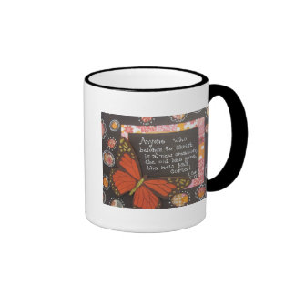 Anyone Who Belongs to Christ is a New Creation Ringer Mug