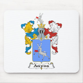 Anyos Family Hungarian Coat of Arms Mouse Pad