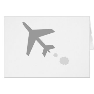 anything airplane; plane card