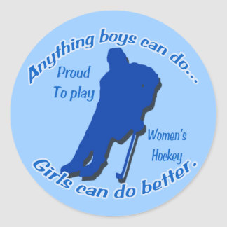 Anything Boys Can Do... Sticker