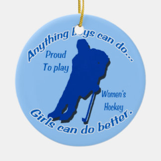Anything Boys can do...Tree Ornament circle
