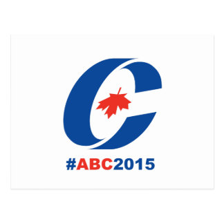Anything but Conservative 2015 Postcard
