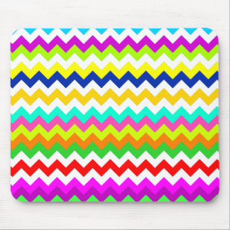 Anything But Gray Chevron Mouse Pad