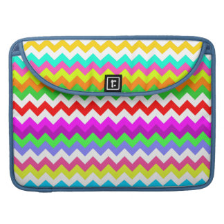 Anything But Gray Chevron Sleeve For MacBooks
