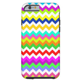 Anything But Gray Chevron Tough iPhone 6 Case