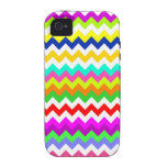 Anything But Gray Chevron Vibe iPhone 4 Covers