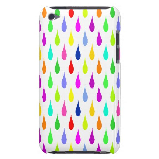 Anything But Gray Droplets Barely There iPod Cases